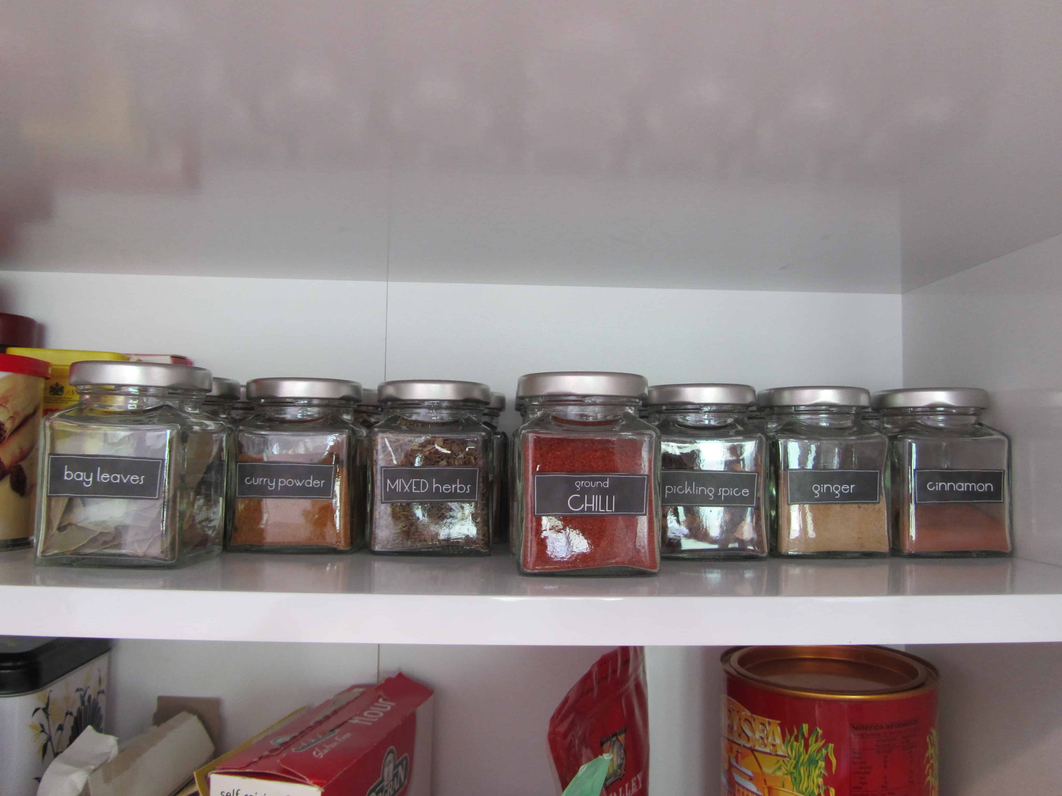 photo relating to Printable Spice Jar Labels titled Spice jar labels (with free of charge printables!) The Kiwi Nation Lady