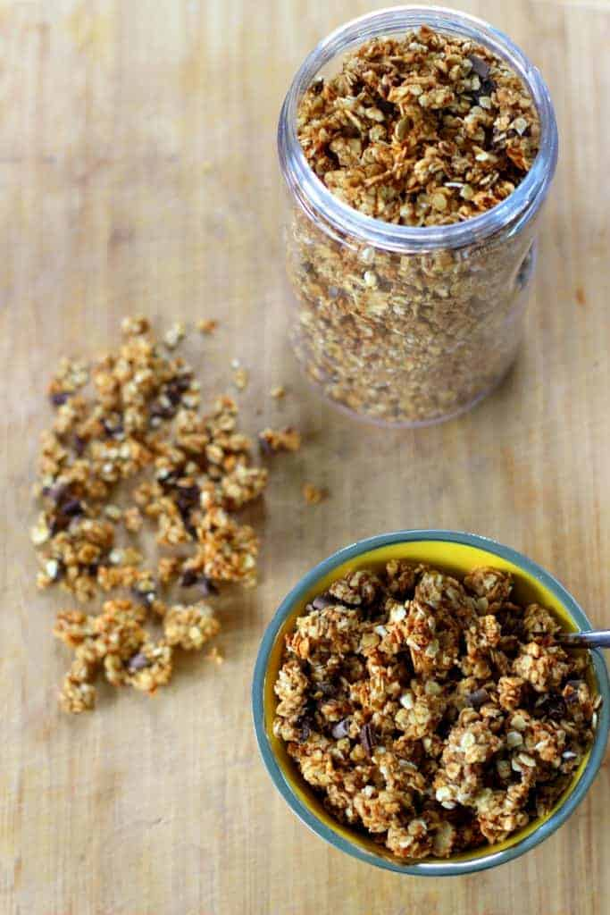 Peanut Butter, Banana (and chocolate chip) Granola | The ...