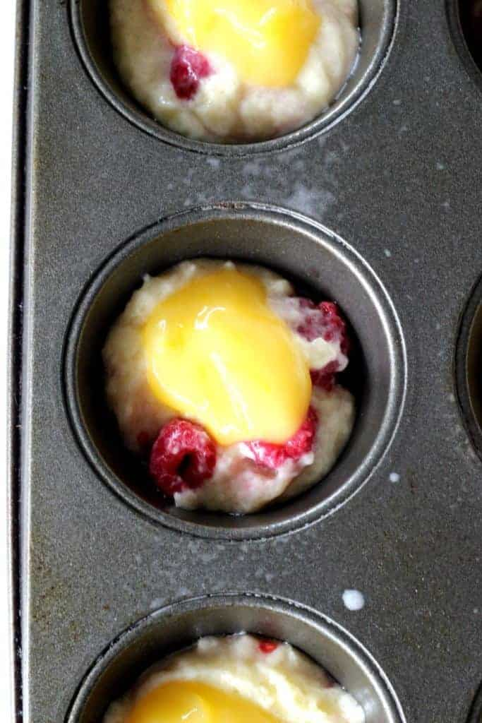 Raspberry & Lemon Curd Muffins (2)