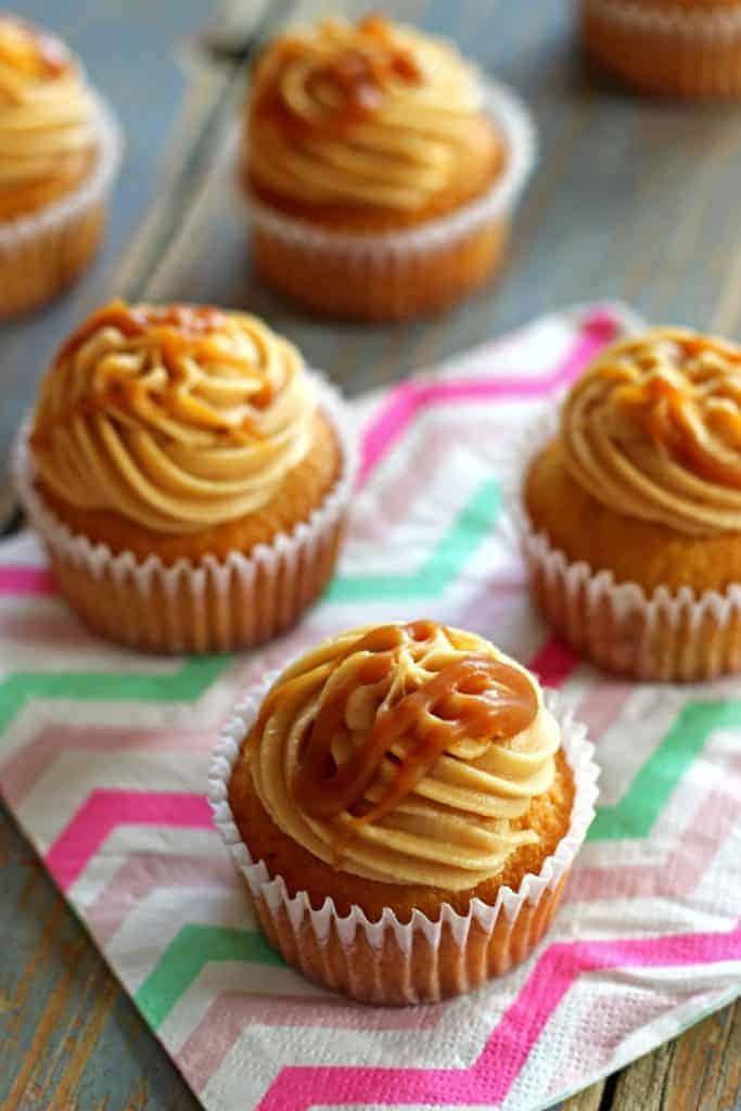 Salted Caramel Cupcakes (2)