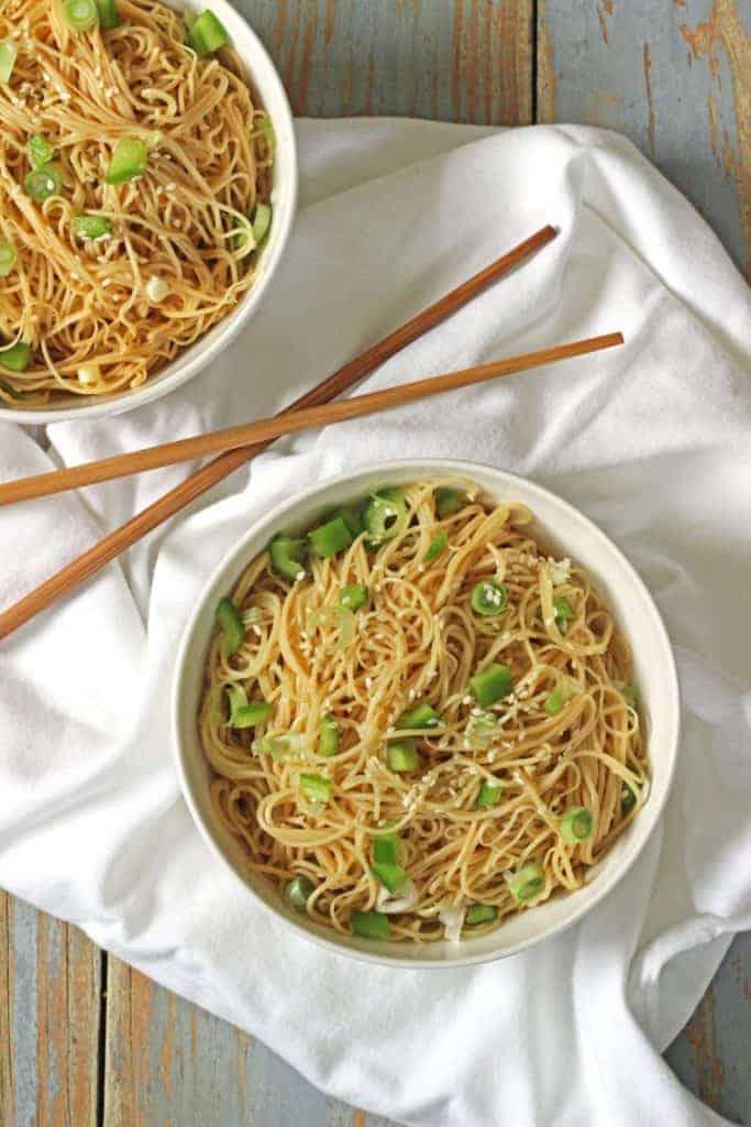 Simple Sesame Noodles (2)