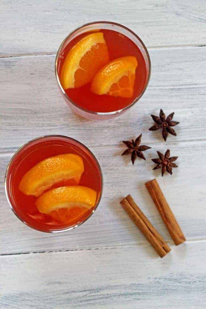 Mulled cider - the perfect drink for those cold winter nights!