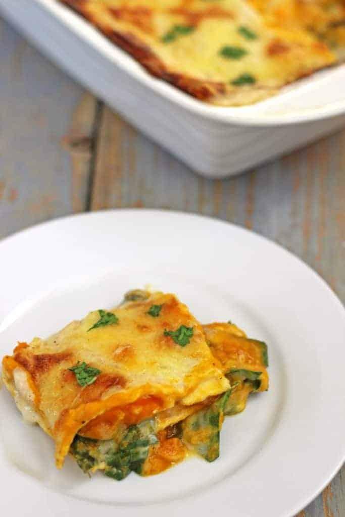 Pumpkin & Spinach Lasagne (7)