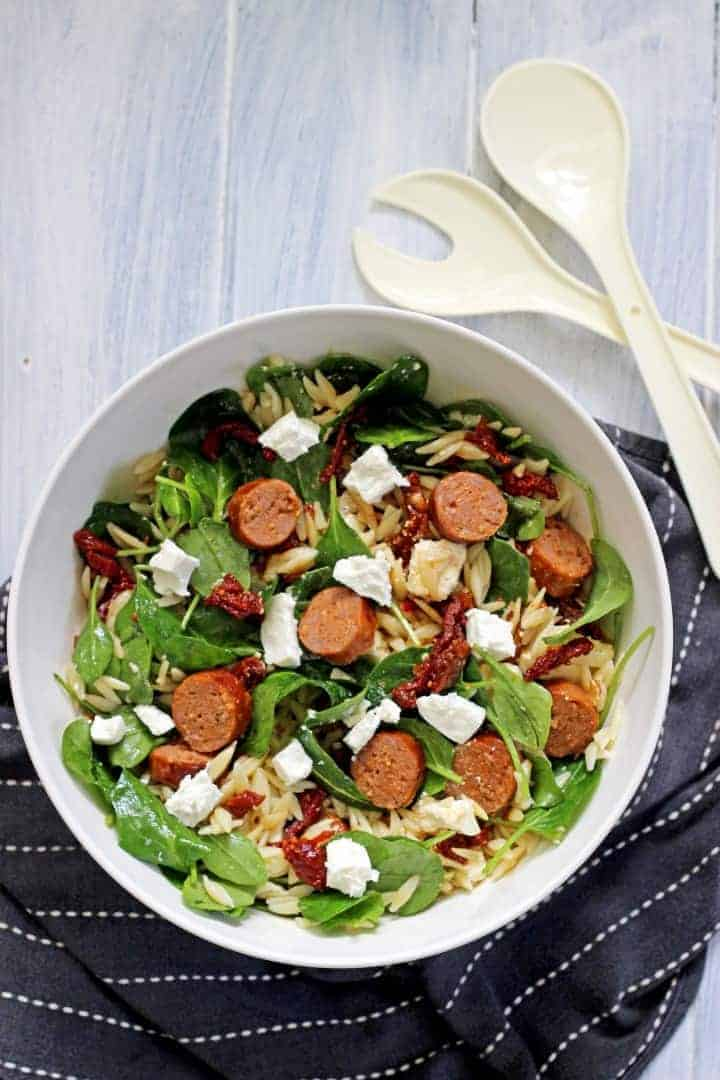 A quick, easy & delicious weekday lunch option