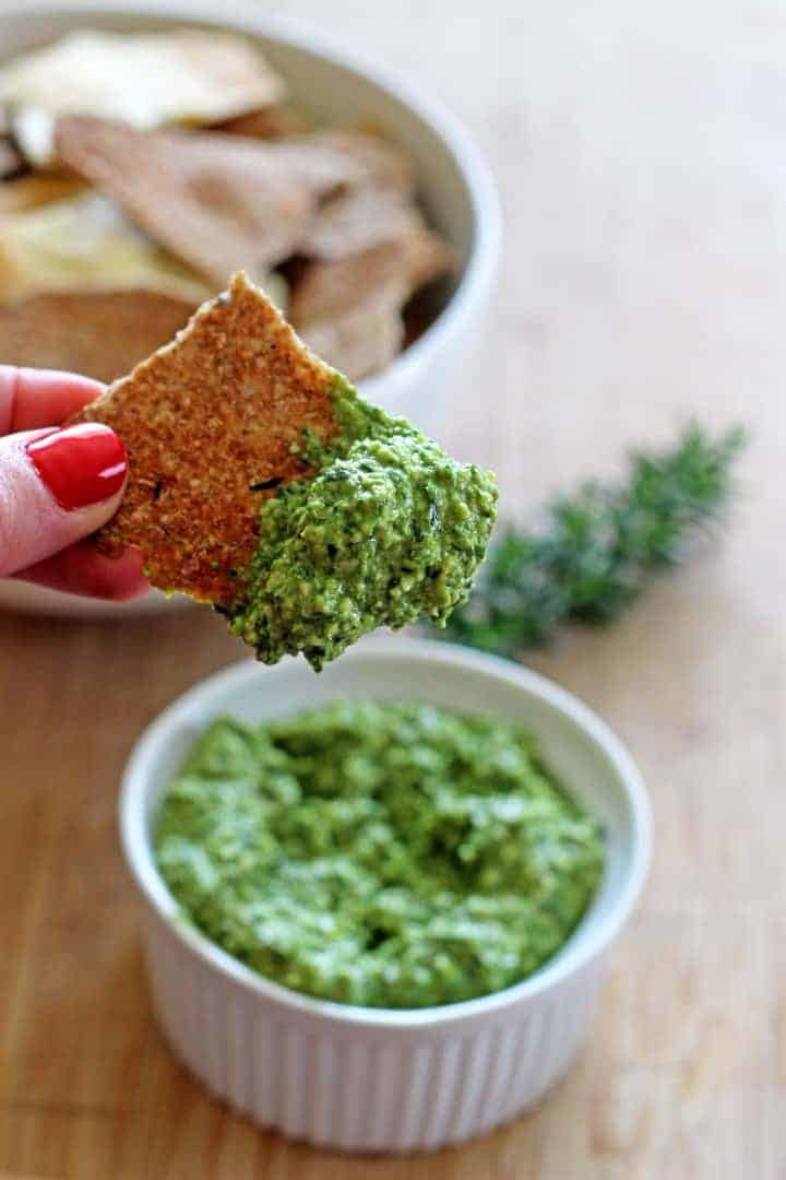 Spinach & Walnut Pesto (7)