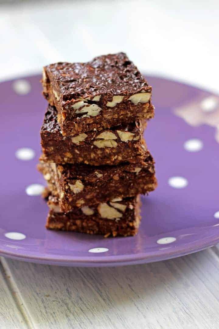 Chocolate Coconut & Almond No Bake Slice (2)
