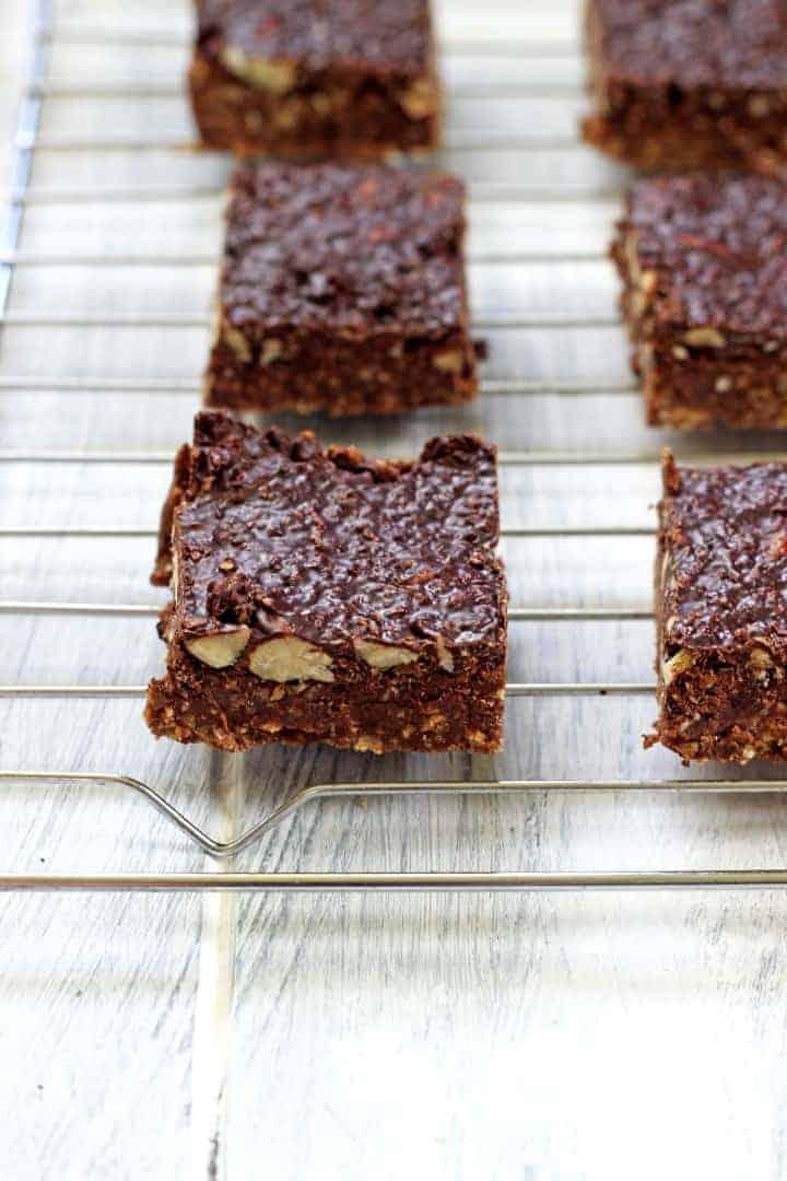 Chocolate Coconut & Almond No Bake Slice (3)