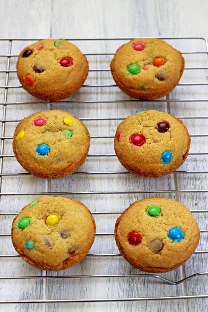 Soft, chewy & full of M&M's in every bite!