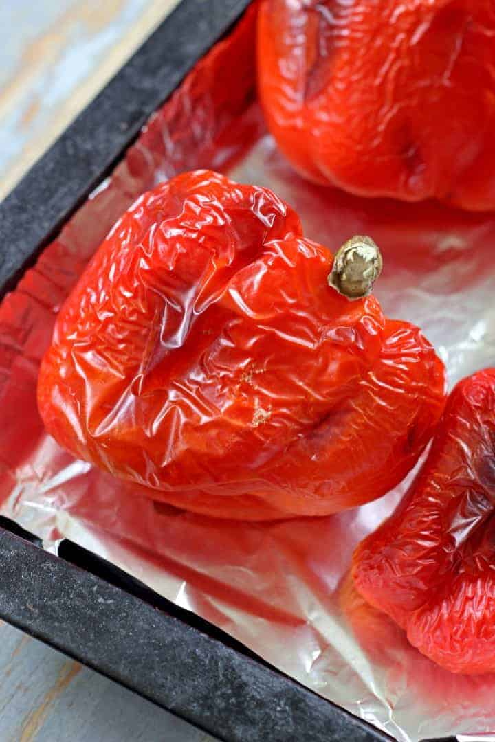 How to roast red peppers - you'll never buy them in a jar again!