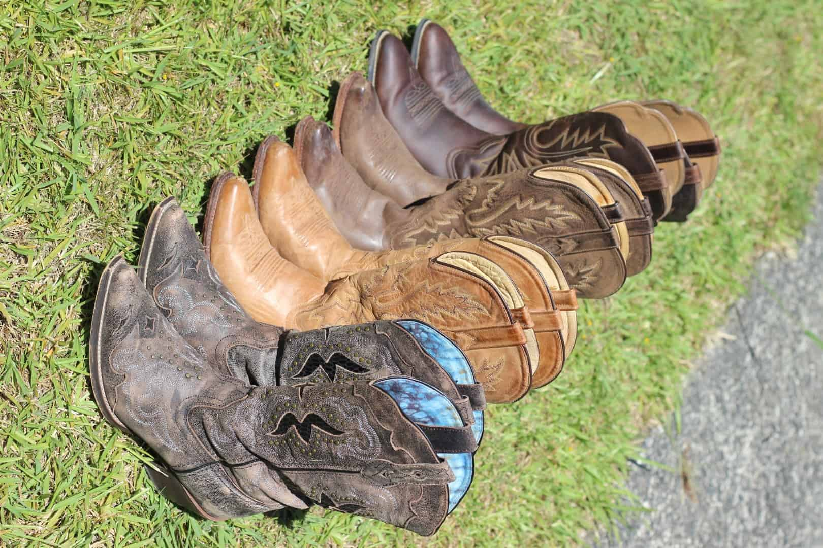 All the cowboy boots