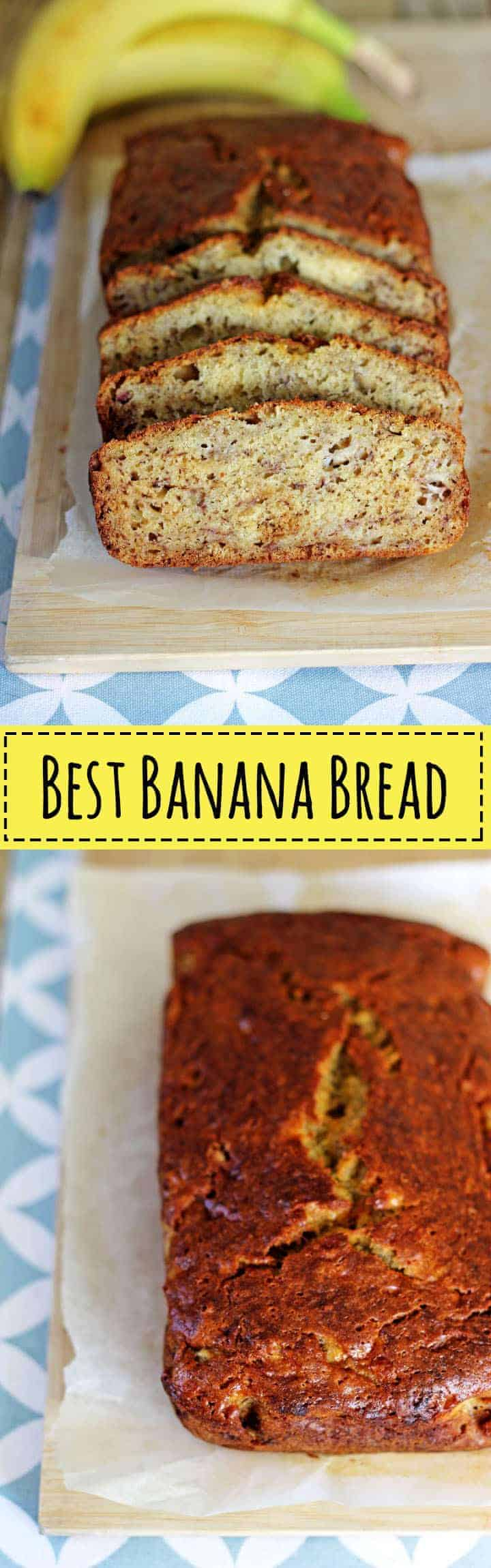 Classic easy banana bread recipe made in 1 bowl, and is ready to eat in 1 hour! | recipe at thekiwicountrygirl.com
