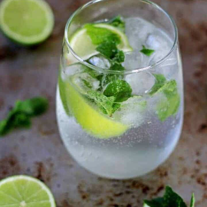 My version of a classic mojito - my all time favourite cocktail, perfect for summer, holidays or honeymoons!   recipe at thekiwicountrygirl.com