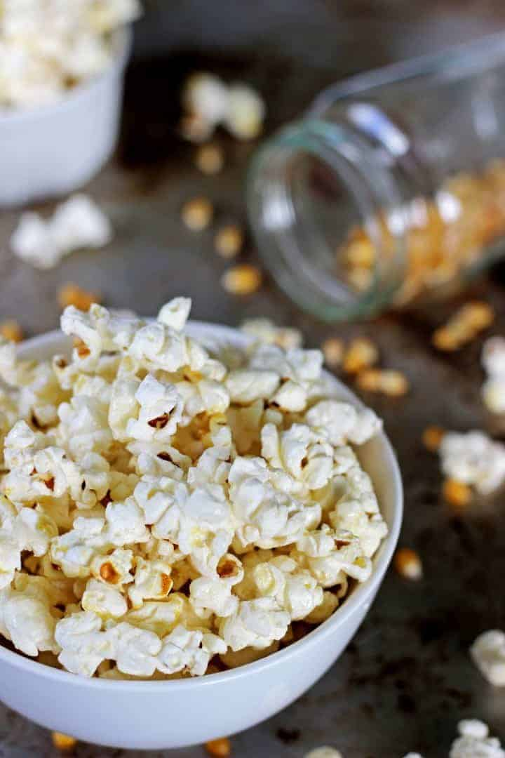Sweet & salty Homemade Kettle Corn plus the secret to perfectly popped popcorn! | recipe at thekiwicountrygirl.com