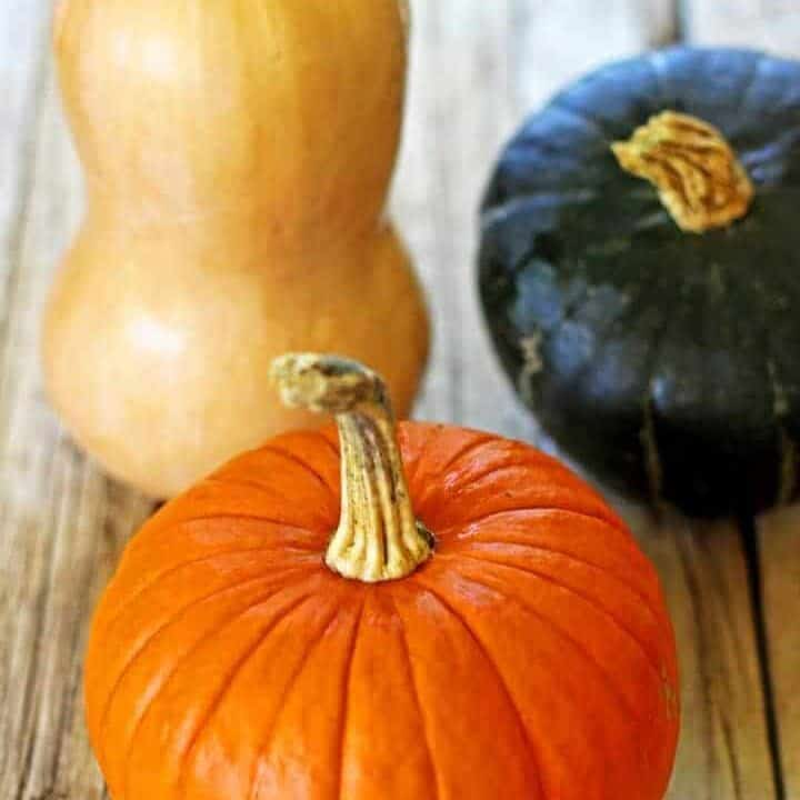 So that we can make all the pumpkin things let's learn how to roast a whole pumpkin and make homemade pumpkin puree...with minimum fuss!