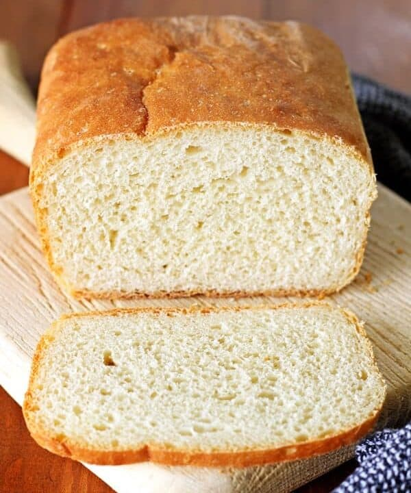 A simple recipe to help you master the basics of bread making - my favourite easy homemade white bread recipe! You'll be a master baker in no time! | thekiwicountrygirl.com