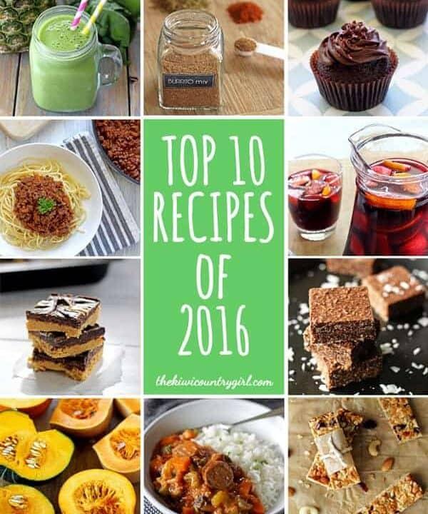 Top 10 Recipes from 2016 | thekiwicountrygirl.com