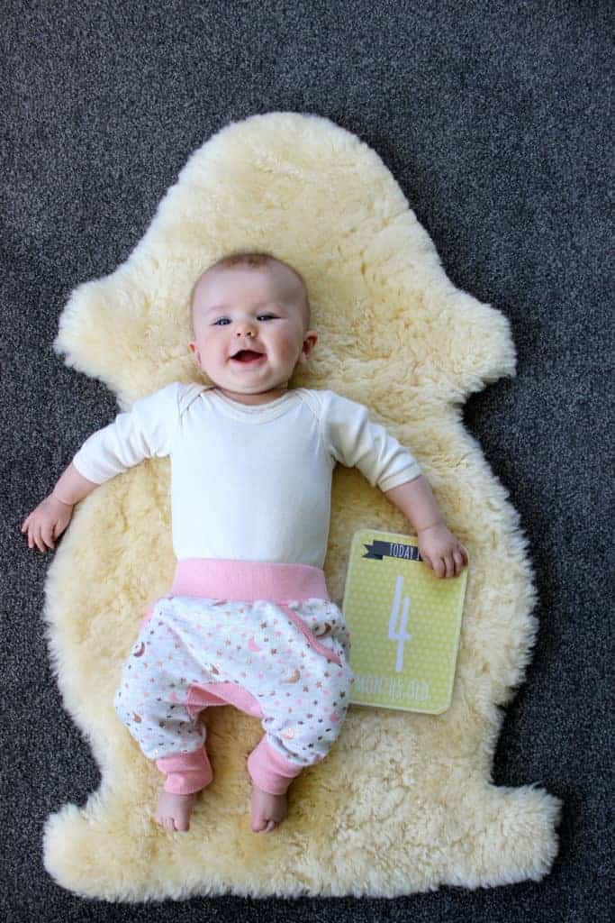 Life with Sadie – 4 months