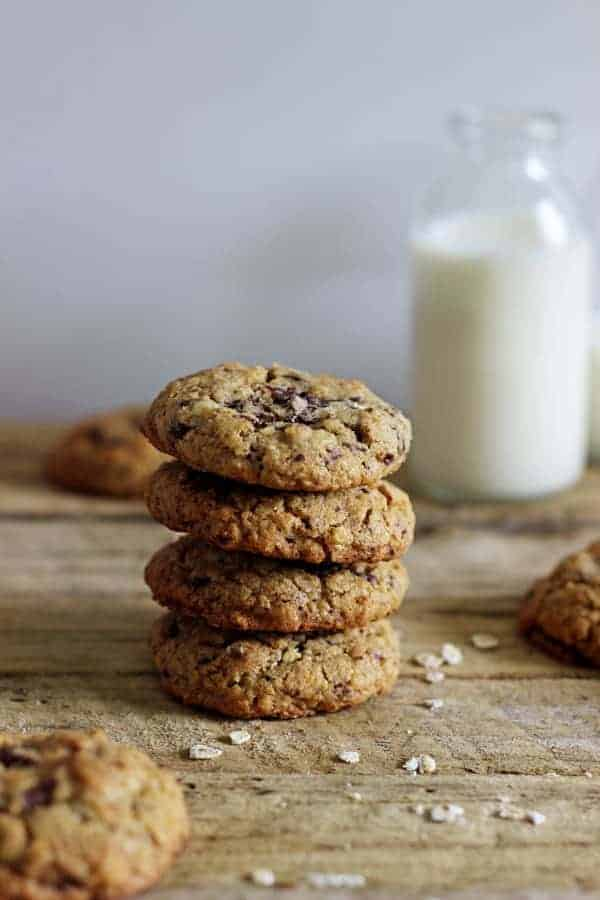 Oatmeal Chocolate Lactation Cookies