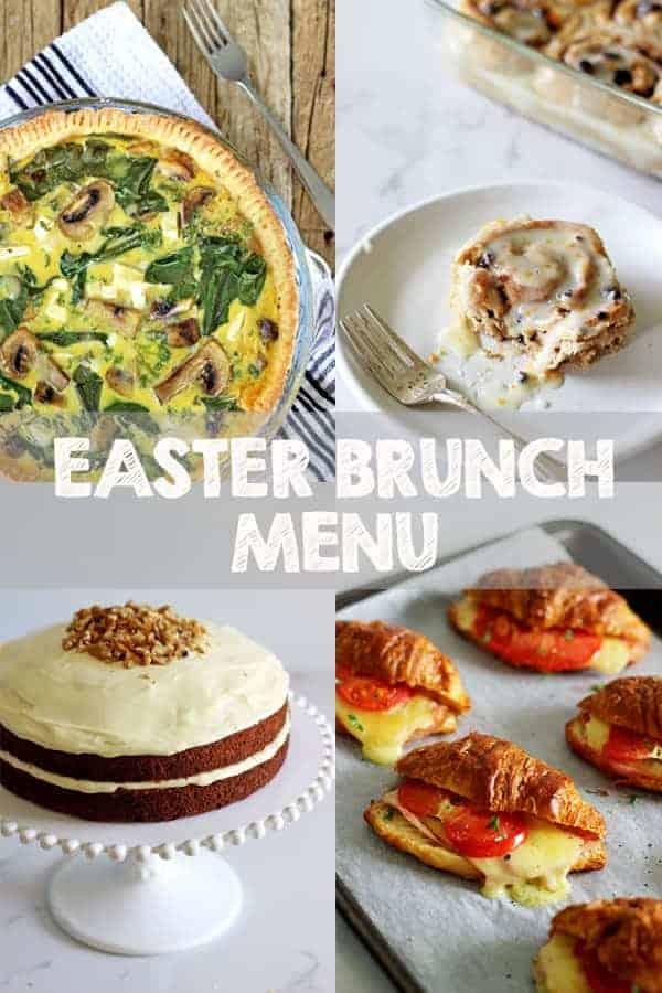 Our Easter Brunch Menu