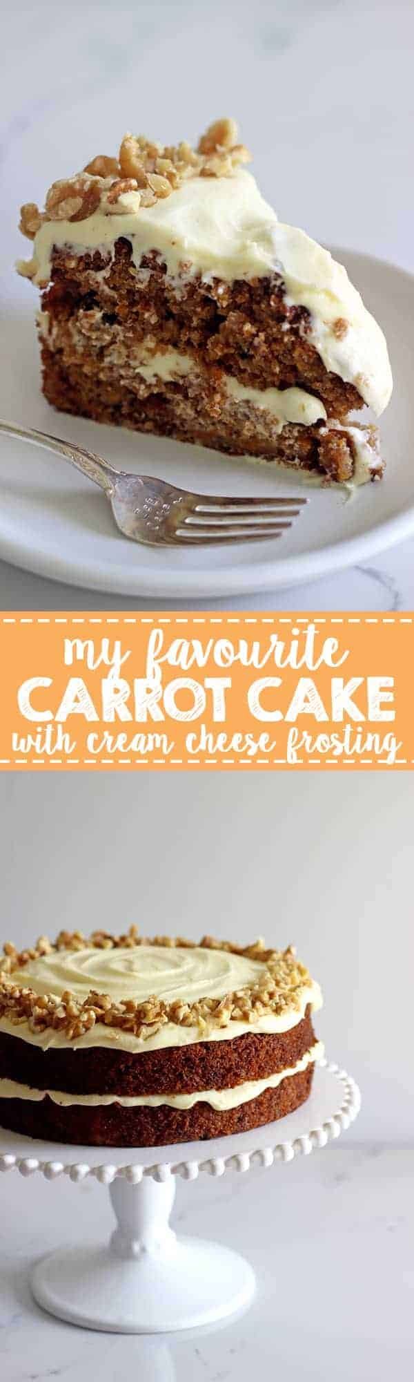 My Favourite Carrot Cake Recipe The Kiwi Country Girl