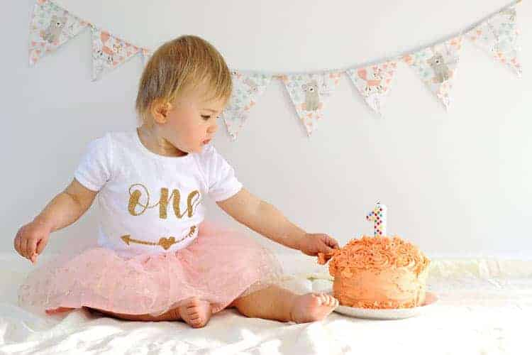 Fabulous 10 Tips For An Epic 1St Birthday Cake Smash The Kiwi Country Girl Funny Birthday Cards Online Elaedamsfinfo