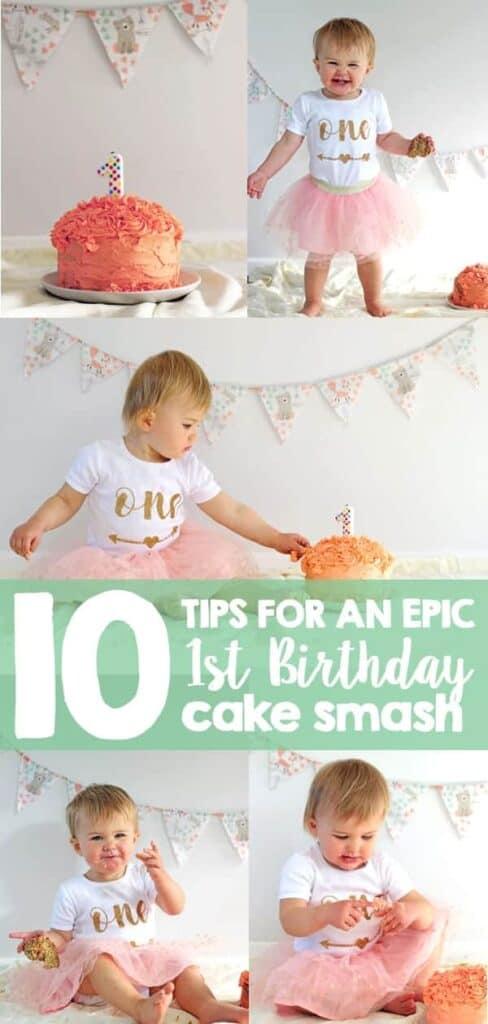 10 Tips For An Epic 1st Birthday Cake Smash