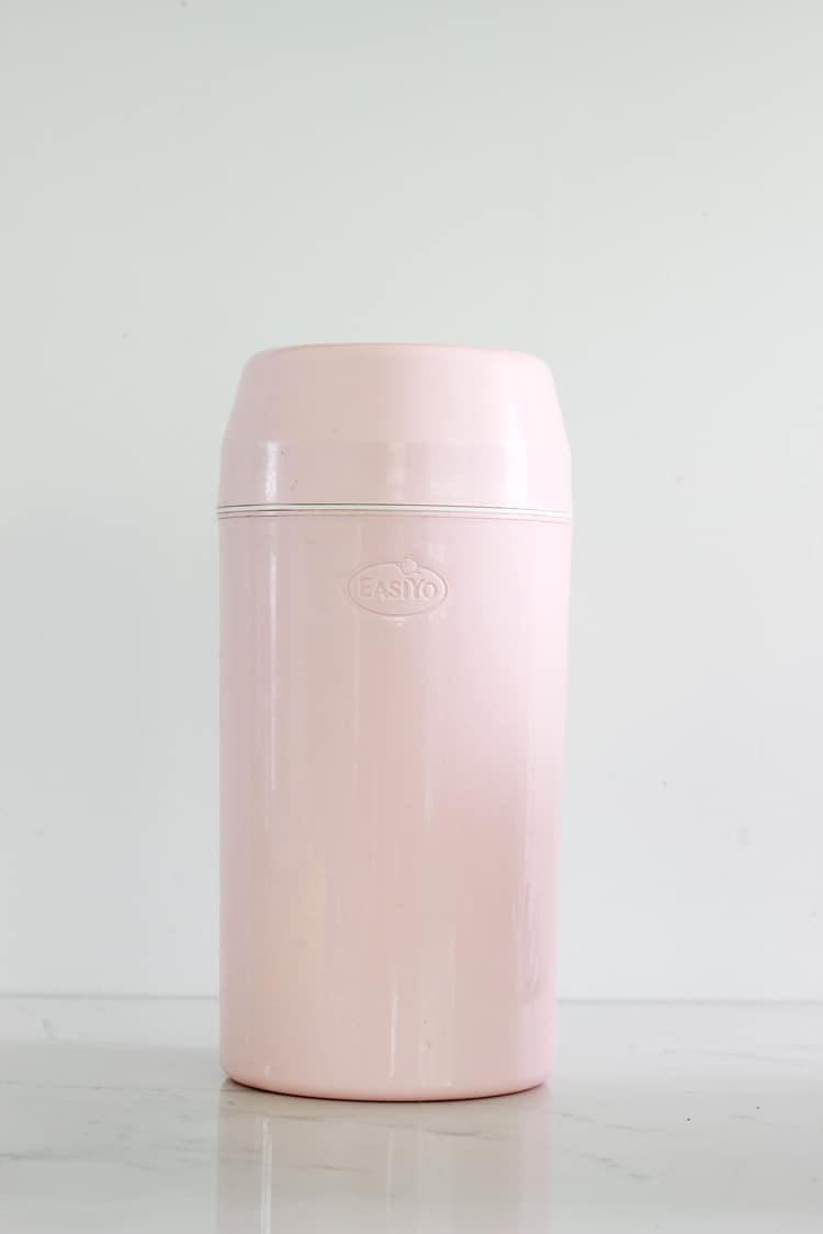 Pink easiyo yoghurt maker