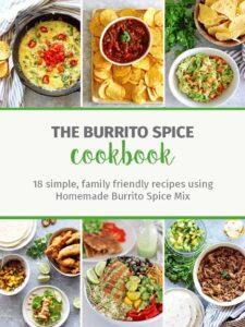 E-book cover for Burrito Spice E-cookbook